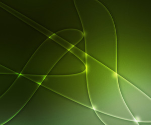 Abstract Green Shapes Background Texture