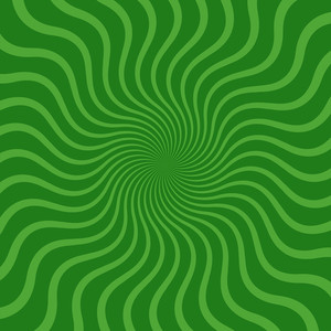 Abstract Green Sunburst Backdrop