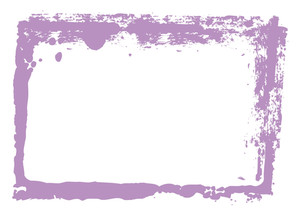 Abstract Grunge Frame Vector Design