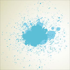 Abstract Grunge Texture Paint Drops
