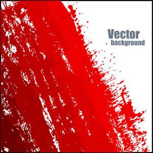 Abstract Grunge Texture Splash Banner