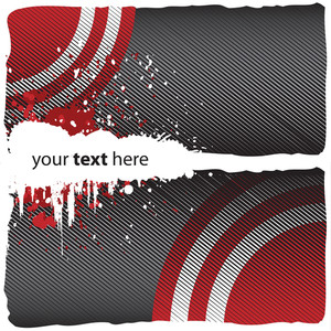 Abstract Halftone Grungy Background