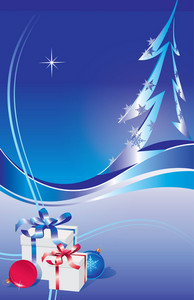 Abstract Holiday Vector