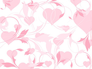 Abstract-illustration Heart-shape Pattern