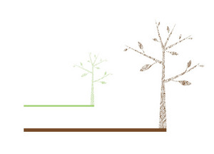 Abstract Illustration Of A Background With A Tree