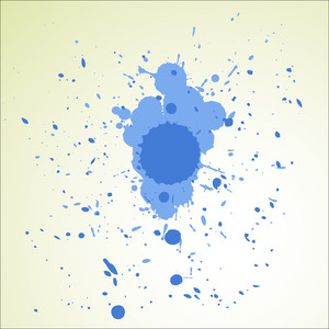 Abstract Ink Scatter