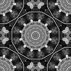 Abstract Kaleidoscope Backdrop