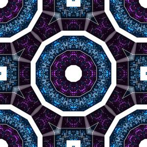 Abstract Kaleidoscopic Backdrop