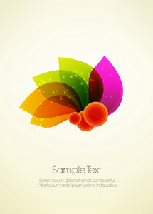 Abstract Leaves Vector Illustration