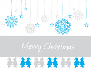 Abstract Merry Xmas Background