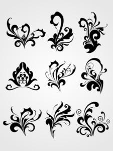 Abstract Modern Tattoos Artwork