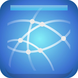 Abstract Network Tiny App Icon