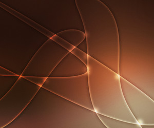 Abstract Orange Light Shapes Background