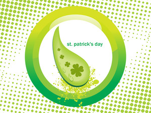 Abstract Patrick Day Background 17 March