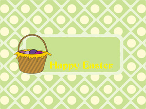 Abstract Pattern Concept For Easter Day