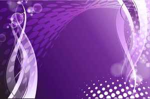 Abstract Purple Design