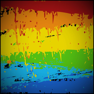 Abstract Rainbow Texture Backdrop