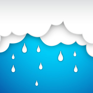 Abstract Rainy Season Background