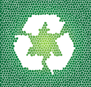 Abstract Recycle Background