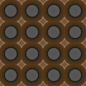 Abstract Retro Circles Pattern Bg