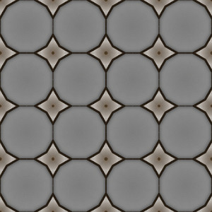 Abstract Retro Circles Pattern