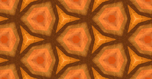 Abstract Retro Kaleidoscope Festive Graphic