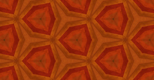 Abstract Retro Kaleidoscope Pattern