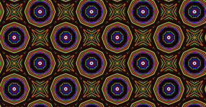 Abstract Retro Pattern Design