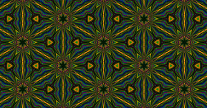Abstract Retro Pattern Graphic