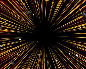 Abstract Retro Sunburst Background