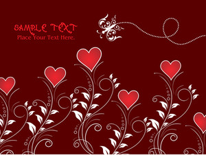 Abstract Romantic Background