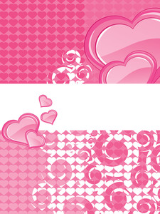 Abstract Romantic Love Background