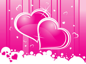 Abstract Romantic Pink Background