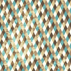 Abstract Seamless Repeat Pattern With Rhombs