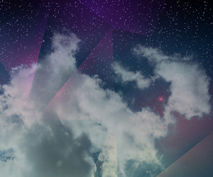 Abstract Sky Space Background