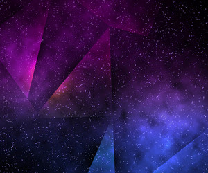 Abstract Space Violet Background