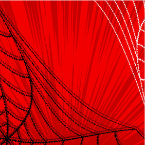 Abstract Spider Web Halloween Graphic