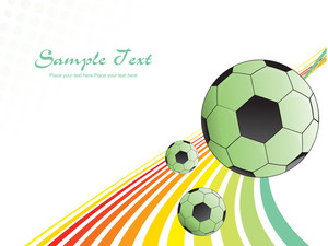 Abstract Sports Background Illustration
