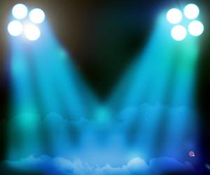 Abstract Spotlights