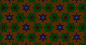 Abstract Stars Pattern Decor Design