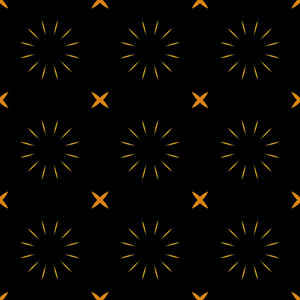 Abstract Stars Pattern Design