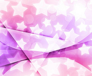 Abstract Stars Pink Background