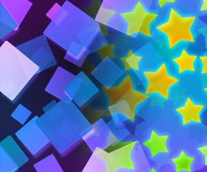 Abstract Stars Violet Background