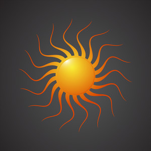 Abstract Sun Design