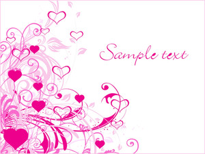 Abstract-valentine Banner