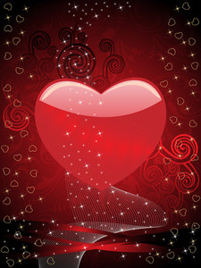 Abstract Valentine Day Background