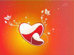 Abstract Valentine Heart Series7