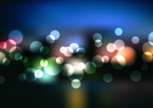 Abstract Vector Blurry Lights