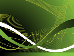 Abstract Vector Illustration Of Wavy Background