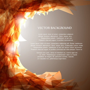 Abstract Vector brilhante ackground
